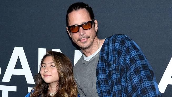 Chris Cornell's daughter releases inspirational duet with her dad for Father's Day