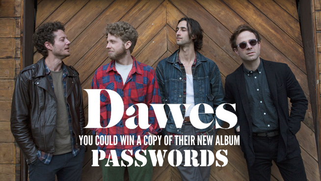 "You Could Win The New Dawes Album ""Passwords""!"