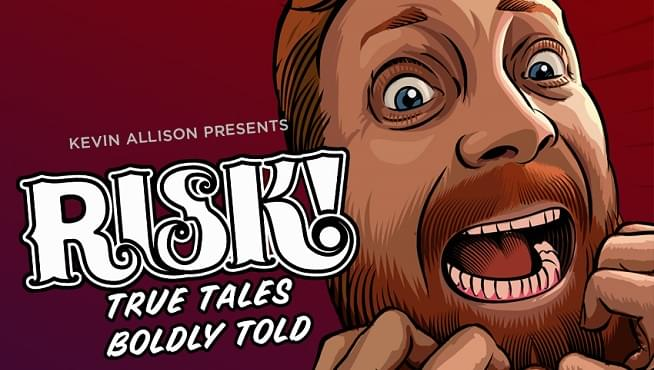 Comedian Kevin Allison, creator of RISK! podcast, shares his favorite dirty stories from the show