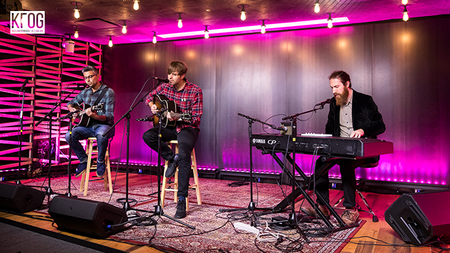 "KFOG Private Concert: Death Cab for Cutie – ""Little Wanderer"""
