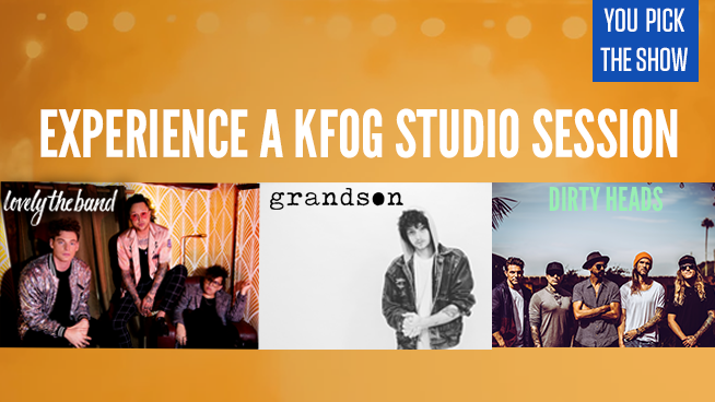 Win Access Into KFOG Studio Sessions With Grandson, Dirty Heads or lovelytheband