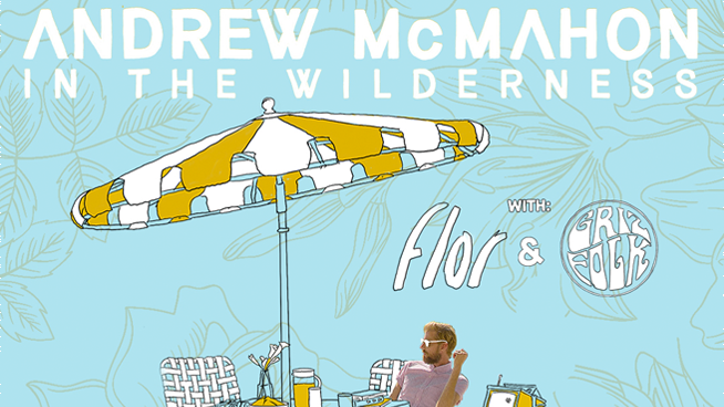 You Could Win Tickets To Andrew McMahon In The Wilderness