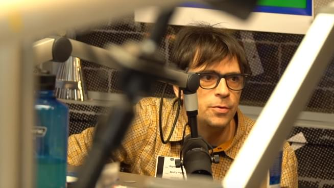 Weezer joins The Woody Show in-studio for a live performance