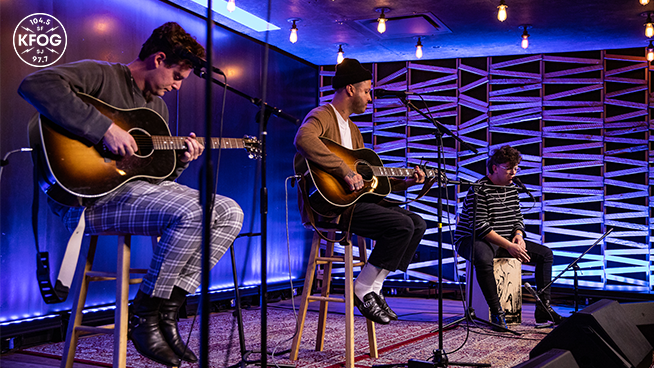 """KFOG Studio Session: lovelytheband – """"these are my friends"""""""