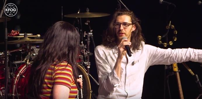 KFOG Studio Sessions: Hozier – Interview