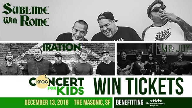 Try To Win Tickets To Concert For Kids With Sublime With Rome!