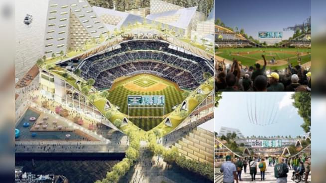 Twitter has a lot to say about the new Oakland A's stadium proposal
