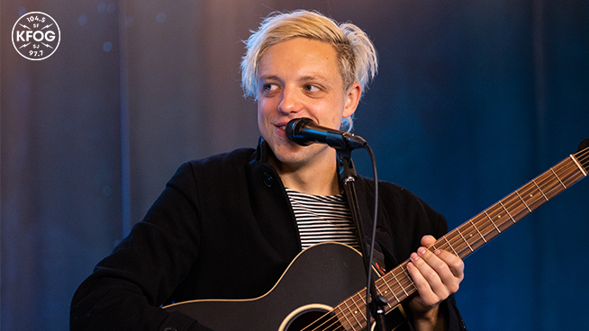 "KFOG Studio Session: Robert DeLong – ""Global Concepts"""