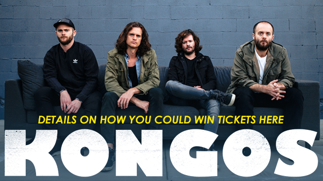 Try To Win Tickets To See KONGOS!