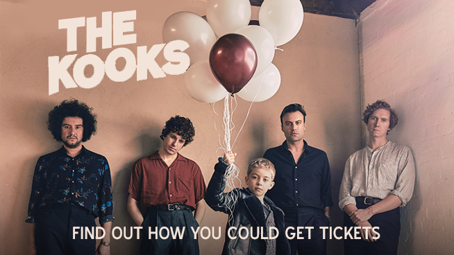 Try To Win Tickets To See The Kooks @ The Fox Theater!