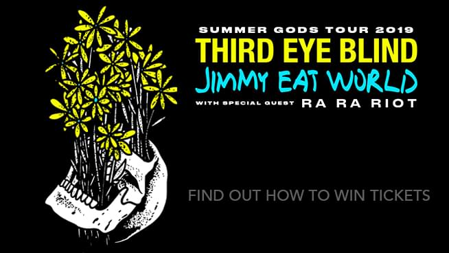 Tickets To See Jimmy Eat World and Third Eye Blind