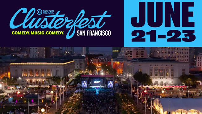 Clusterfest reveals stacked linup of comedy, music…and more comedy