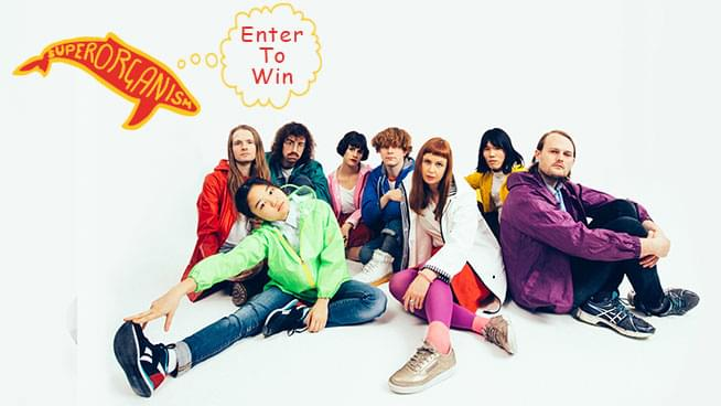 You Could Win Tickets To Superorganism!