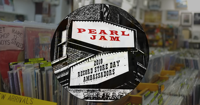 Pearl Jam named the official ambassadors of Record Store Day 2019