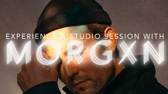 You Could Experience A KFOG Studio Session With Morgxn!