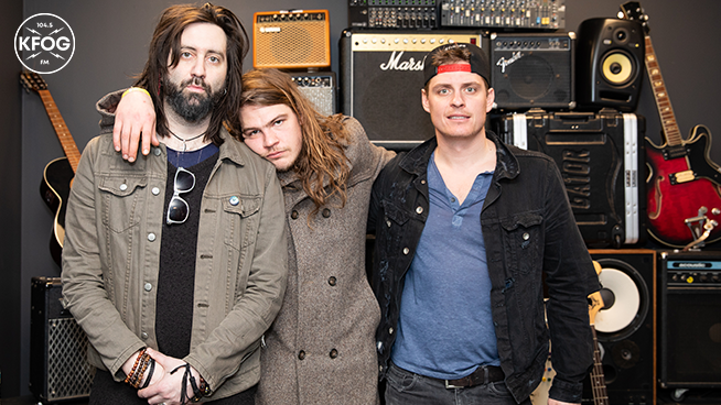 KFOG Studio Session: Glorious Sons – Gallery