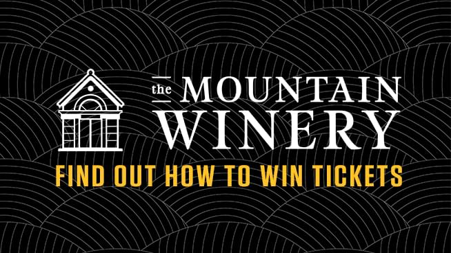 Try To Win Tickets To A Mountain Winery Concert!