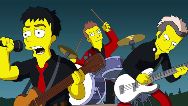 Watch This Amazing Mashup of Green Day and The Simpsons
