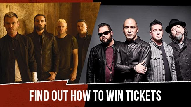 Your Shot At Tickets To See Bush, Live + Our Lady Peace!