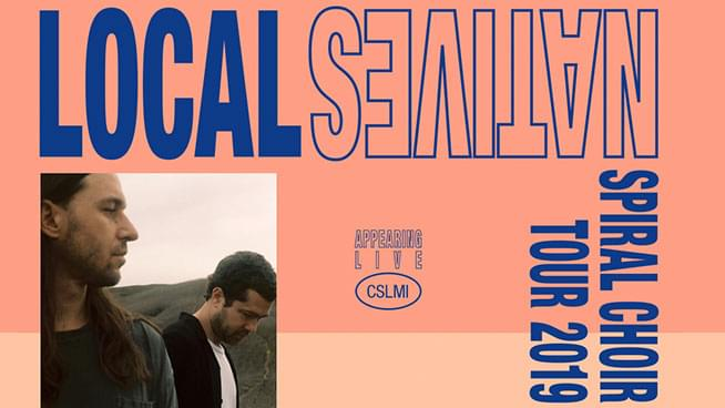 You Could Win Tickets To See Local Natives!