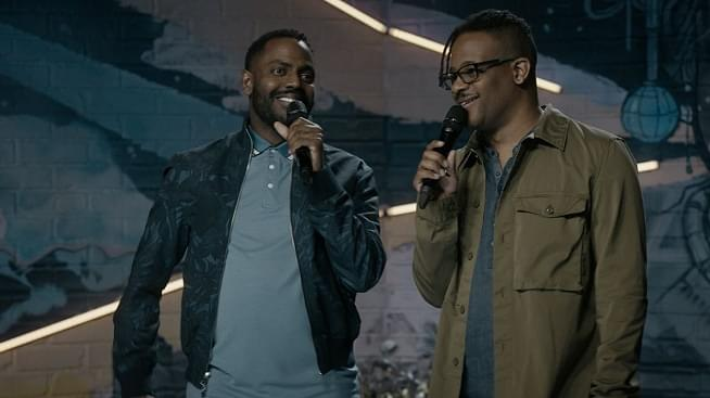 LISTEN: Comedian Baron Vaughn talks to Arthur about his show The New Negros on Comedy Central