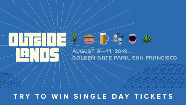 Enter To Win Single-Day Tickets To Outside Lands 2019!