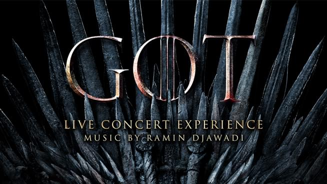 October 3: Game Of Thrones Live Concert Experience