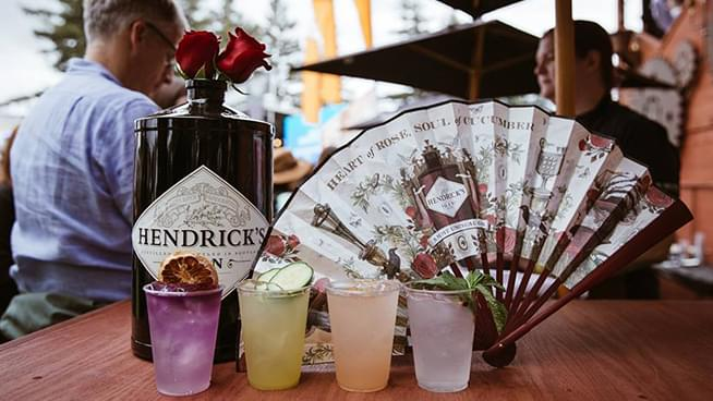 "Just in time for BottleRock Napa Valley: ""The World's Most Inefficient Bar"" by Henderick's Gin is delivering showstopping Summer cocktails"