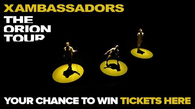 Your Chance To Win Tickets To X Ambassadors