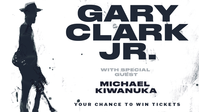 You Could Win Tickets To See Gary Clark Jr.!