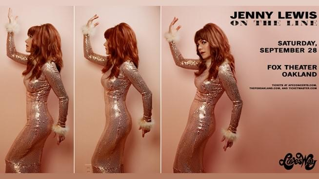 You Could Win Tickets To See Jenny Lewis!