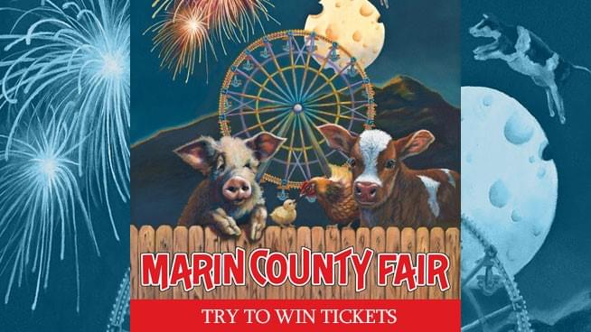 Try To Win Tickets To The Marin County Fair