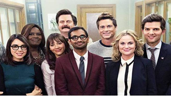 Watch: Vampire Weekend and 'Parks And Rec' Collide