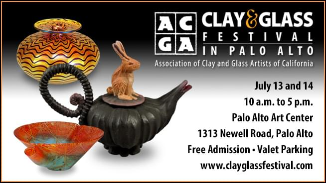 July 13-14: ACGA Clay & Glass Festival