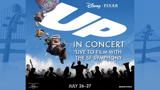 "July 26-27: Disney and Pixar's ""Up"": In Concert Live to Film with The SF Symphony World Premiere"