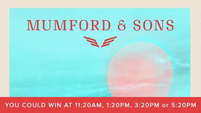 Your Chance At Tickets To Mumford & Sons