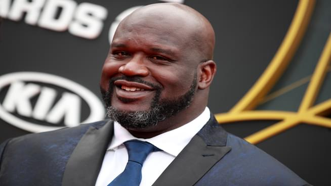 Watch: Shaq In A Moshpit Is The Best Thing You'll See Today