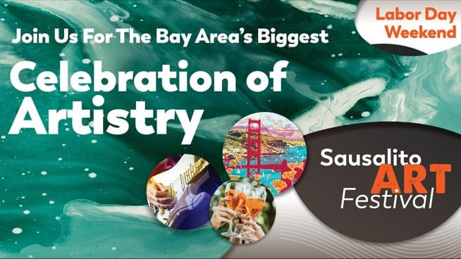You Could Win VIP Passes to the Sausalito Art Festival!