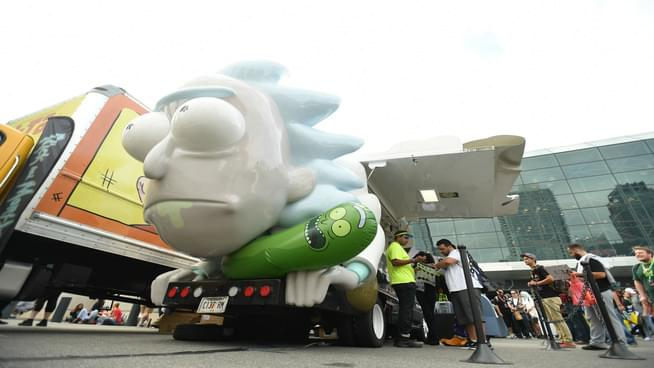 The 'Rick and Morty' Rickmobile Is Coming To The Bay Area Next Month
