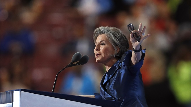 Former Senator Barbara Boxer Discusses the State of the Country