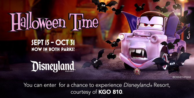 "KGO 810's ""Halloweentime at Disneyland® Resort"" Contest Official Rules"