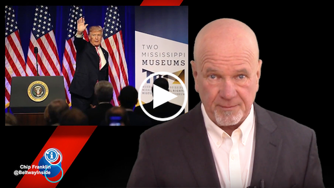 Chip Franklin News Update: Trump's ironic weekend visit to a civil rights museum