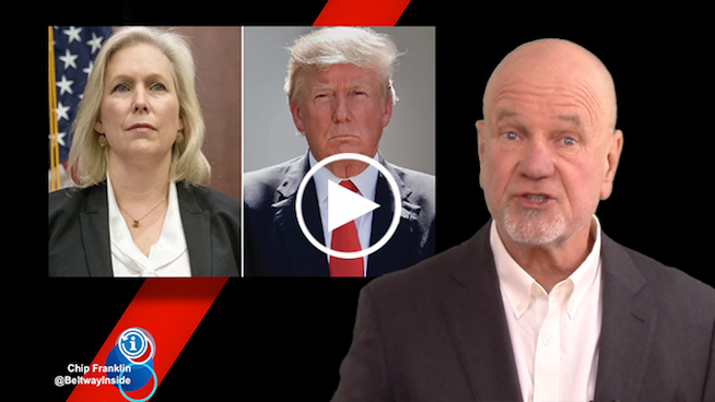 Chip Franklin News Update: Sen. Kirsten Gillibrand calls for Trump to resign after sexist tweet