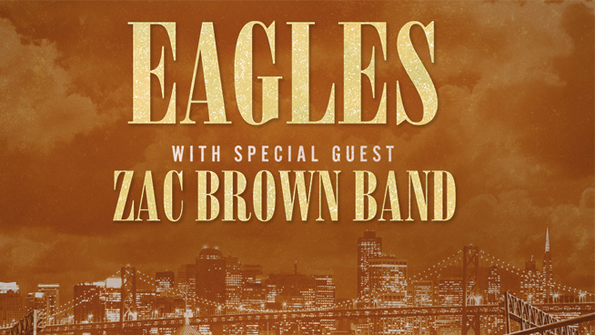 September 20: The Eagles with Zac Brown Band
