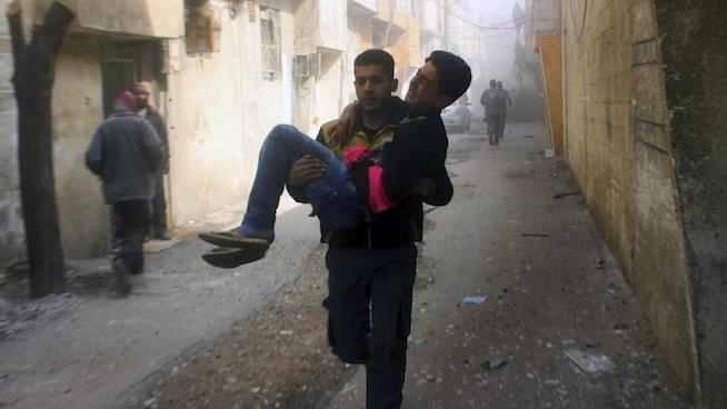 The Syrian war through the eyes of a journalist on the ground