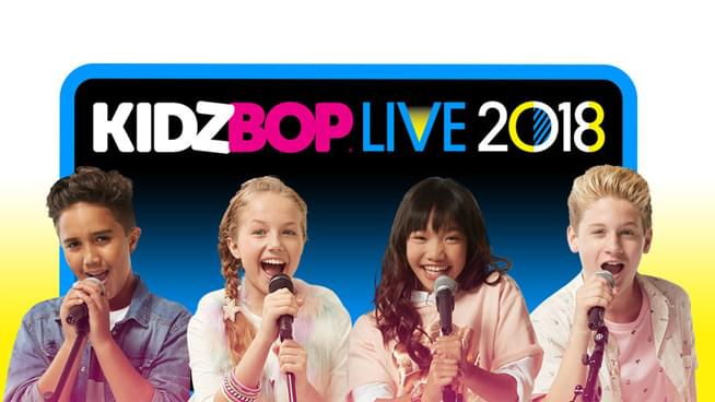 Win A Family 4 Pack of Tickets to Kidz Bop 2018