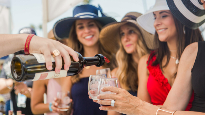 June 30: Sip, Savor and Wager Wine Festival