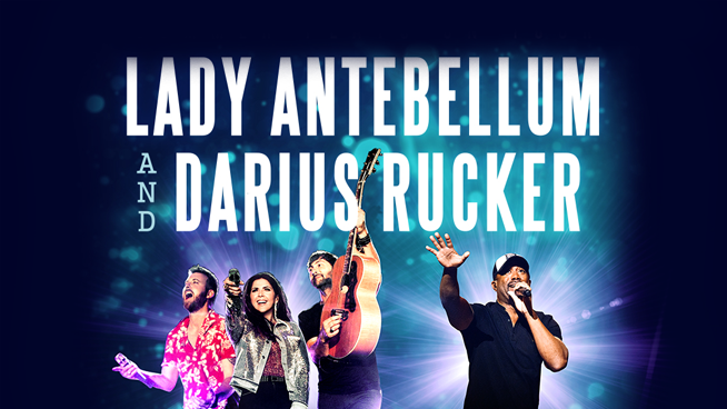 Try To Win Tickets To Lady Antebellum & Darius Rucker!