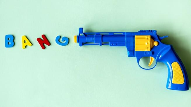 Are toy guns okay in the age of mass shootings?