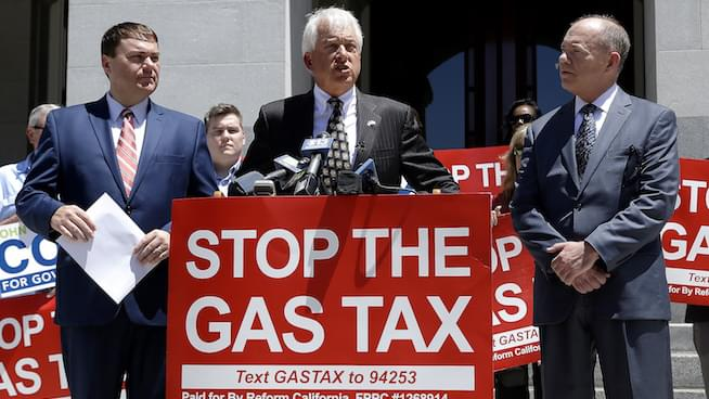 GOP Gubernatorial Candidate John Cox on separating families and the gas tax repeal